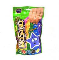 Кинетический песок  KidSand , в пакете, 1000 г (голубой)