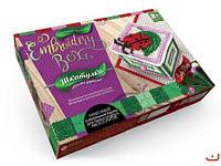 Набор для творчества  Шкатулка Embroidery Box: Lady Bug
