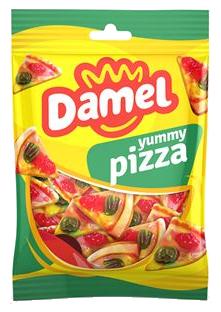 Жуйки Damel 100г Pizzas піца, 18шт/ящ 63141