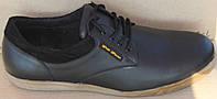 Туфли черные мужские кожаные большие размеры от производителя модель ББТ11