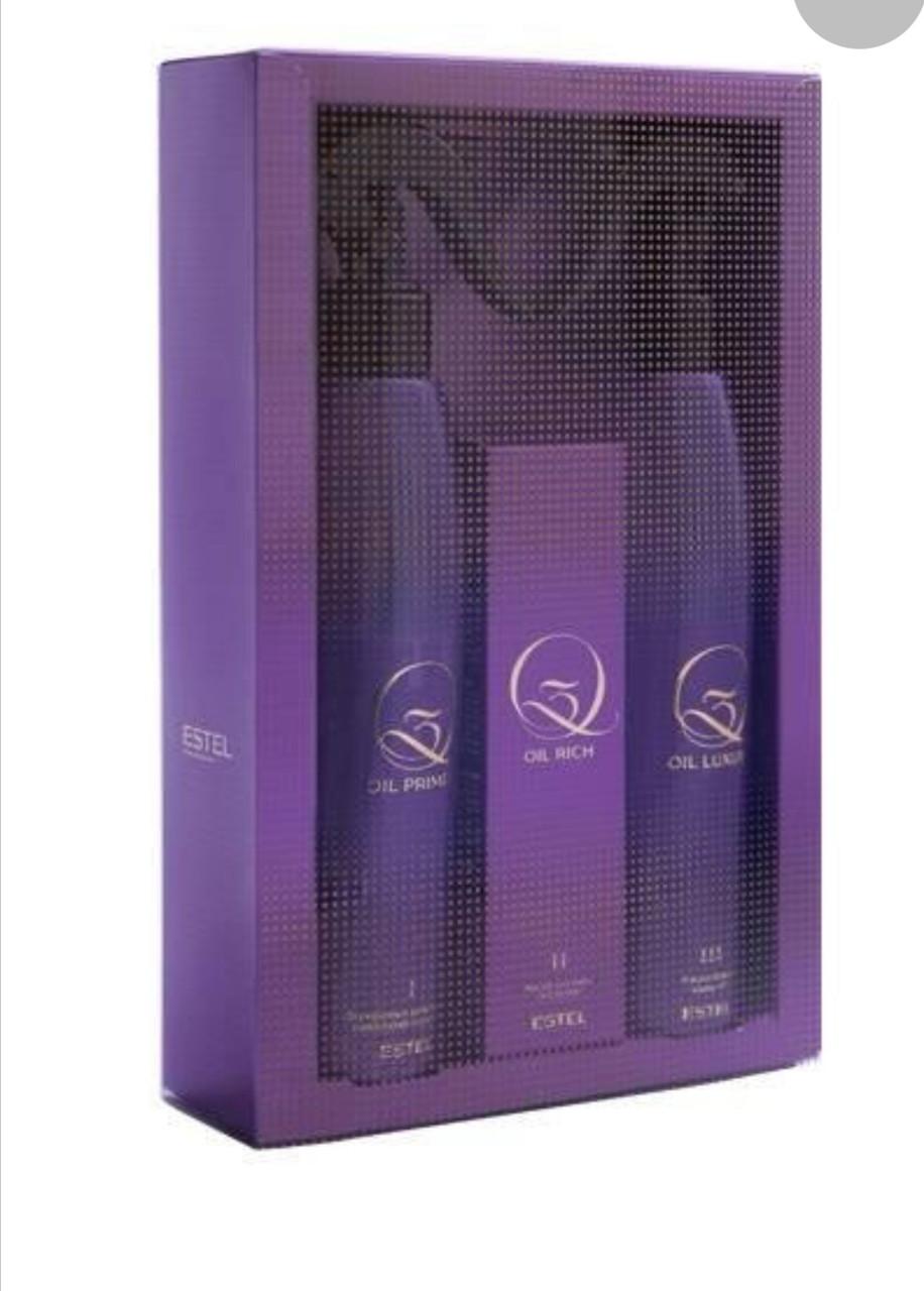 Набор для процедуры экранирования поврежденных волос Q3 THERAPY(Артикул: Q3T/N)