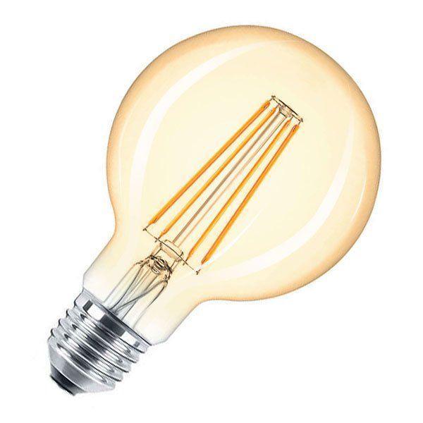 Світлодіодна вінтажна лампа Едісона G95 8W FL-420