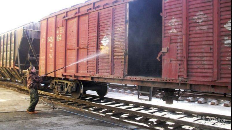 Санитарная обработка пустых вагонов, фото 2