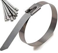 Стяжки металлические (100шт. в упаковке) 4,6х200mm