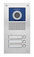Відеопанель Commax DRC-3UC  / з камерой 500 ТВЛ/ Pal на 3 абонента/ Обережно! Цінопад!