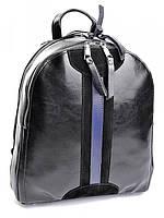 Рюкзак женский кожаный черный B6058-1 Black