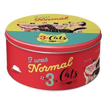 Коробка для хранения Nostalgic-Art 3 Cats Ago (30608)