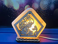 Соляная лампа Маленький ангел 9*13*6 см, фото 1