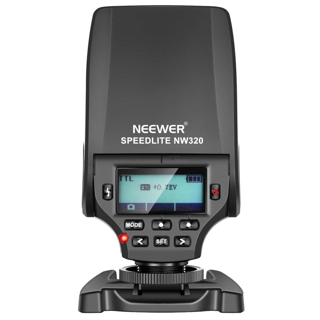 Спалах фотоапарата Neewer NW320 Міні TTL спалах Speedlite Автоматичний спалах
