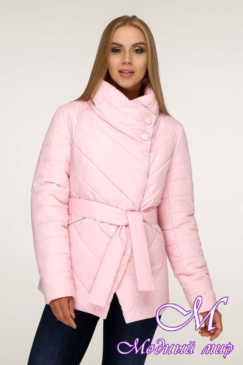 Женская стильная осенняя куртка (р. 44-54) арт. 1199 Тон 23