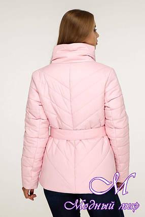 Женская стильная осенняя куртка (р. 44-54) арт. 1199 Тон 23, фото 2