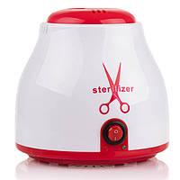 Кварцевый стерилизатор для инструментов + гранулы, красный