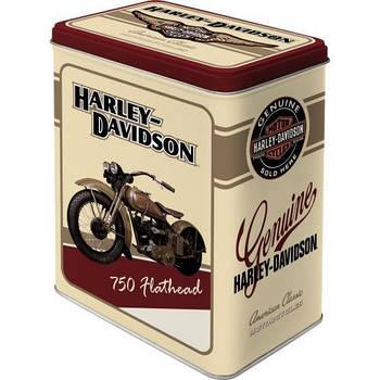 Коробка для хранения Nostalgic-Art Harley-Davidson Flathead L (30106)