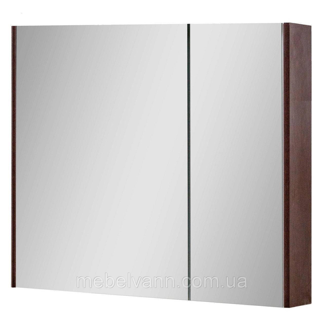 Зеркальный шкаф для ванной комнаты Сенатор Z-80 (без подсветки)