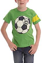 Детская футболка для мальчика Desigual Испания 40T3713 Зеленый