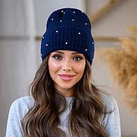 Женская шапка LaVisio 531-003 Синий