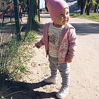 Детский Спортивный Костюм из 3-хединиц На Девочку .Детский Бомбер Штаны И Футболка Baby Band, Италия