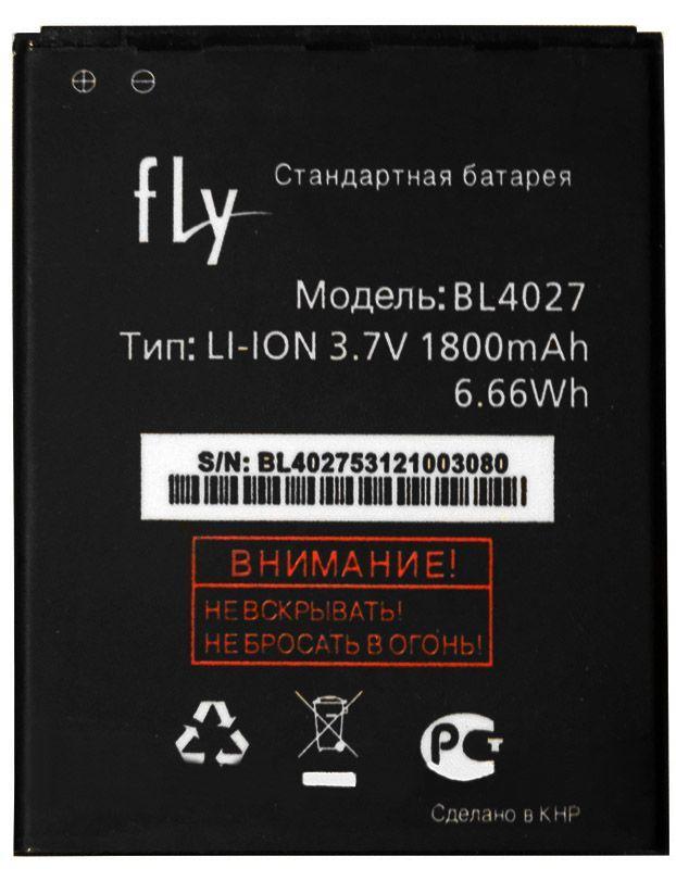 Аккумулятор Fly IQ4410 Quad Phoenix / BL4027 (1800 mAh) 12 мес. гарантии
