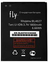 Аккумулятор Fly IQ4410 Quad Phoenix / BL4027 (1800 mAh) 12 мес. гарантии, фото 1