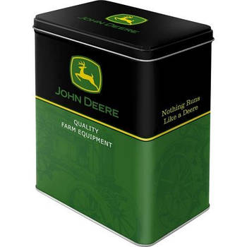 Коробка для хранения Nostalgic-Art John Deere Logo – Black L (30115)