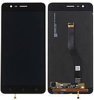 Дисплей (экран) для телефона Asus ZenFone 3 Zoom ZE553KL + Touchscreen Black