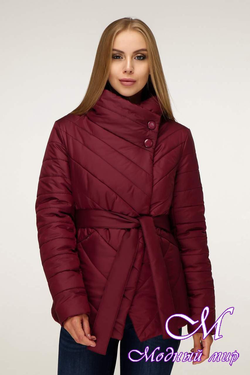 Женская демисезонная куртка больших размеров (р. 44-54) арт. 1199 Тон 5