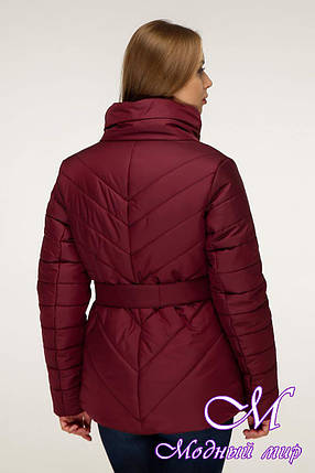 Женская демисезонная куртка больших размеров (р. 44-54) арт. 1199 Тон 5, фото 2