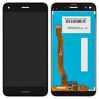 Дисплей (экран) для телефона Huawei Enjoy 7, Nova Lite 2017 SLA-L22, P9 Lite mini, Y6 Pro 2017 (SLA-L02,SLA-L03) + Touchscreen Original Black
