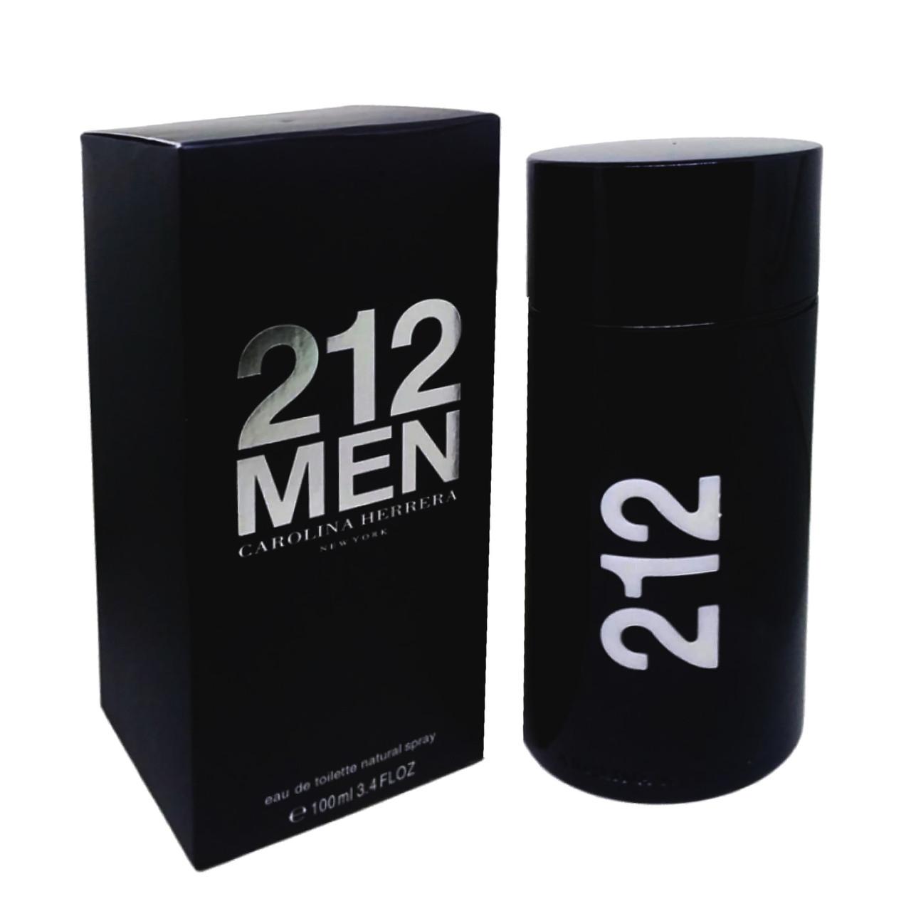 Туалетная вода мужская Carolina Herrera 212 Men, 100 мл