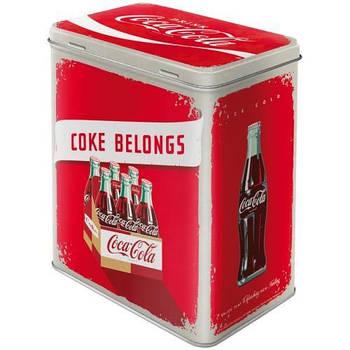 Коробка для хранения Nostalgic-Art Coca-Cola - Logo Red L (30131)
