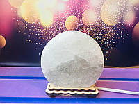 Соляная лампа круг 12*6 см, фото 1