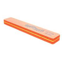 SPONGE BOARD Jumbo - шлифовщик спонжев. широкий оранж. 180/180 шт