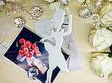 Топпер балерина, балеринка на торт, топер дівчина , топпер дівчина з короною, силует танцююча балеринка, фото 2
