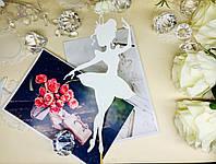 Топпер балерина, балеринка на торт, топер девушка , топпер девушка с короной, силуэт танцующая балеринка