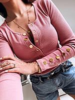 Женская кофточка с пуговицами, фото 1