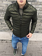 Мужская куртка хаки, фото 1