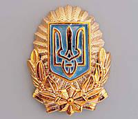 Кокарда МВД Украины орешек