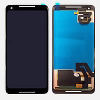 Дисплей (экран) для телефона Google Pixel 2 + Touchscreen Original Black