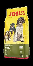 Сухой корм для собак JosiDog Lamb Basic c ягненком 18 кг