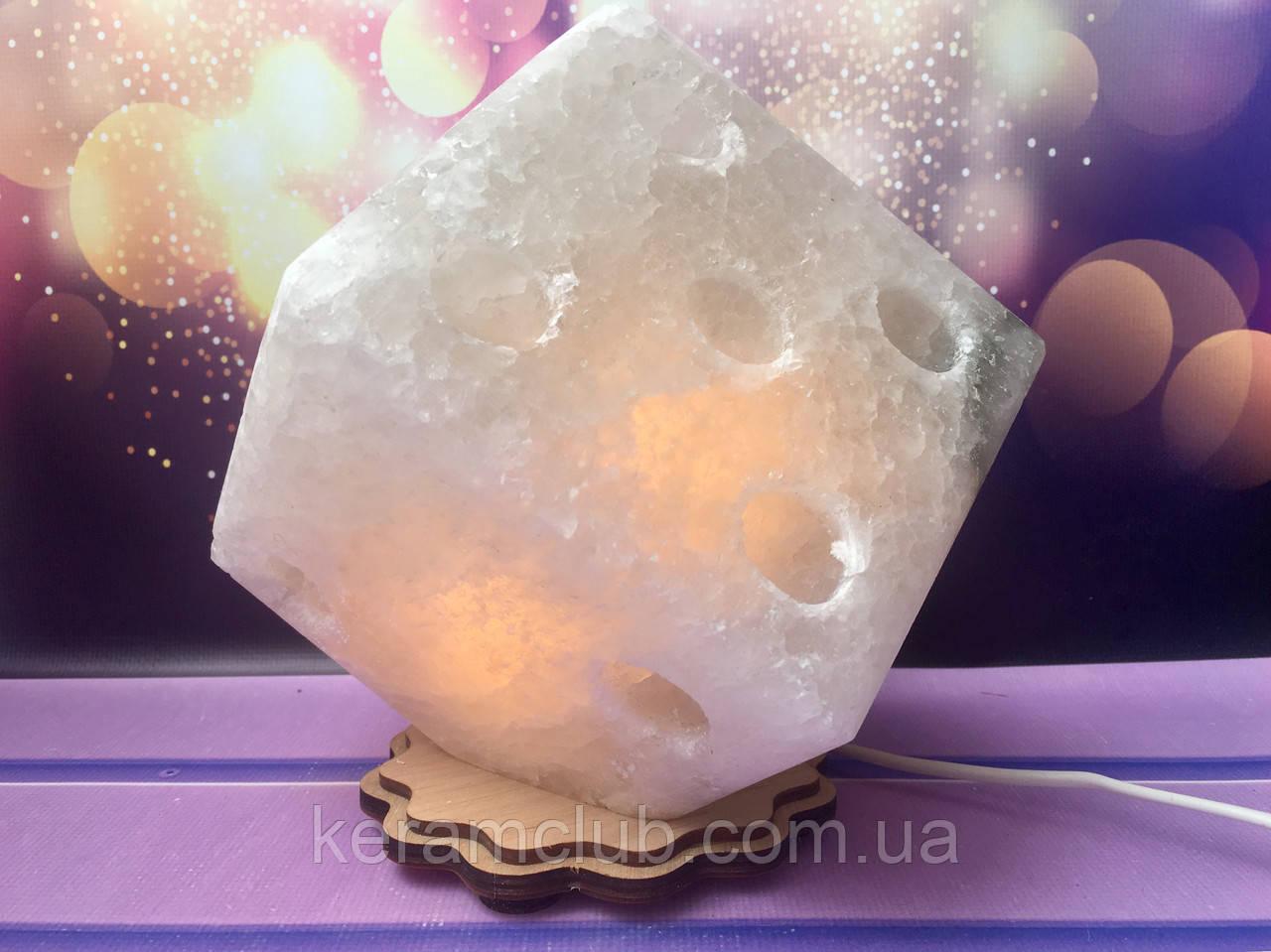 Соляной светильник Куб большой 18*18 см