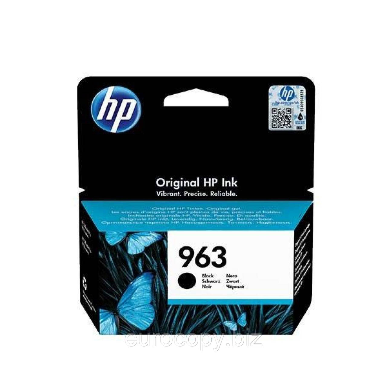 Картридж HP 963 Black Original Ink Cartridge