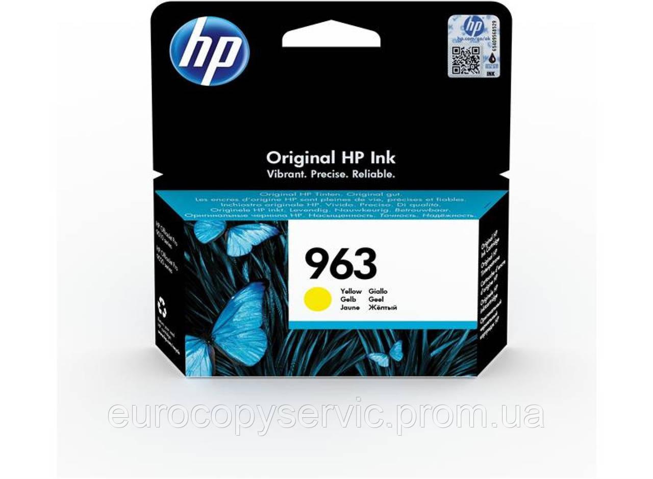 Картридж HP 963 Yellow Original Ink Cartridge