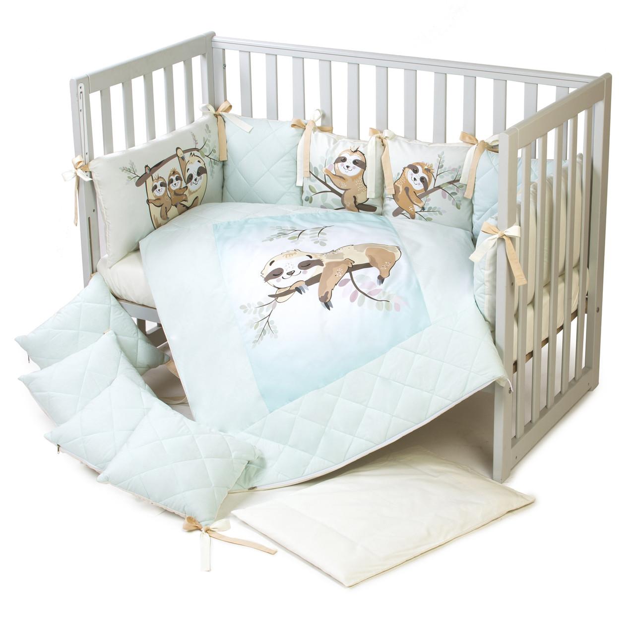 Постельный комплект для новорожденных Veres Lazy sloth