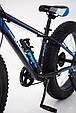 """Fat Bike Горный Велосипеды  S800 HAMMER EXTRIME"""" Колёса 24''х4,0. Алюминиевая рама 14'' Япония Shimano., фото 5"""
