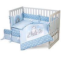 Постельный комплект для новорожденных Veres Summer Bunny blue