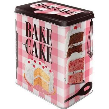 Коробка для хранения Nostalgic-Art Bake A Cake L (30142)