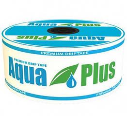 Капельная лента Aqua Plus 8mil 10см (500м)