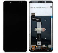 Дисплей (экран) для телефона Xiaomi Redmi Note 5, Redmi Note 5 Pro + Touchscreen Original Black