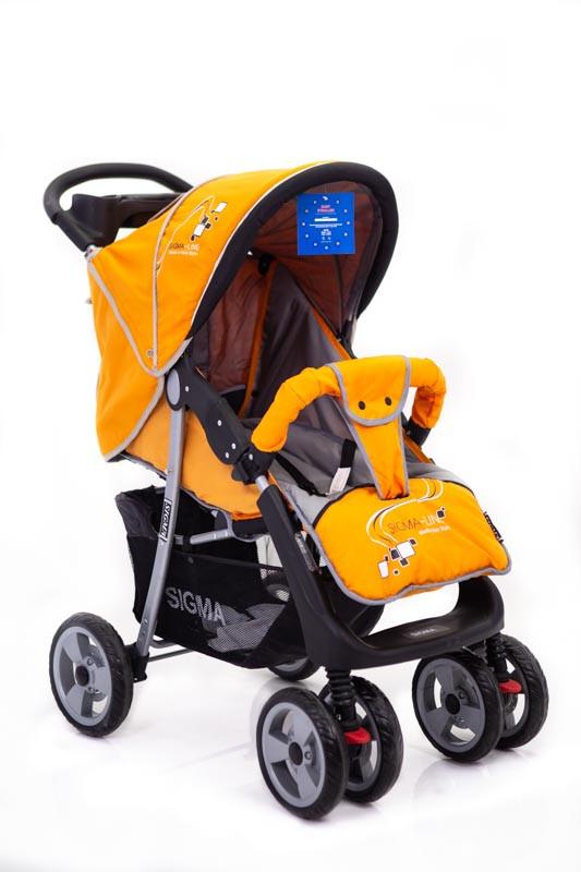 Детская прогулочная коляска книжка  Sigma K-038F