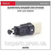 Выключатель концевой стоп сигналов Renault Duster 8200276361
